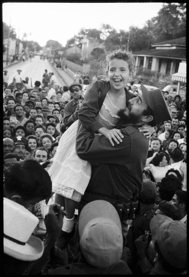 Fidel Castro en 1959.Burt Glinn. Magnum Photos