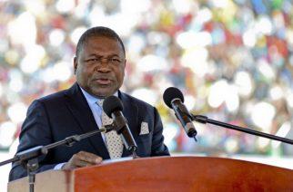 Le président de la République du Mozambique, Filipe Nyusi/EPA/ANTONIO SILVA