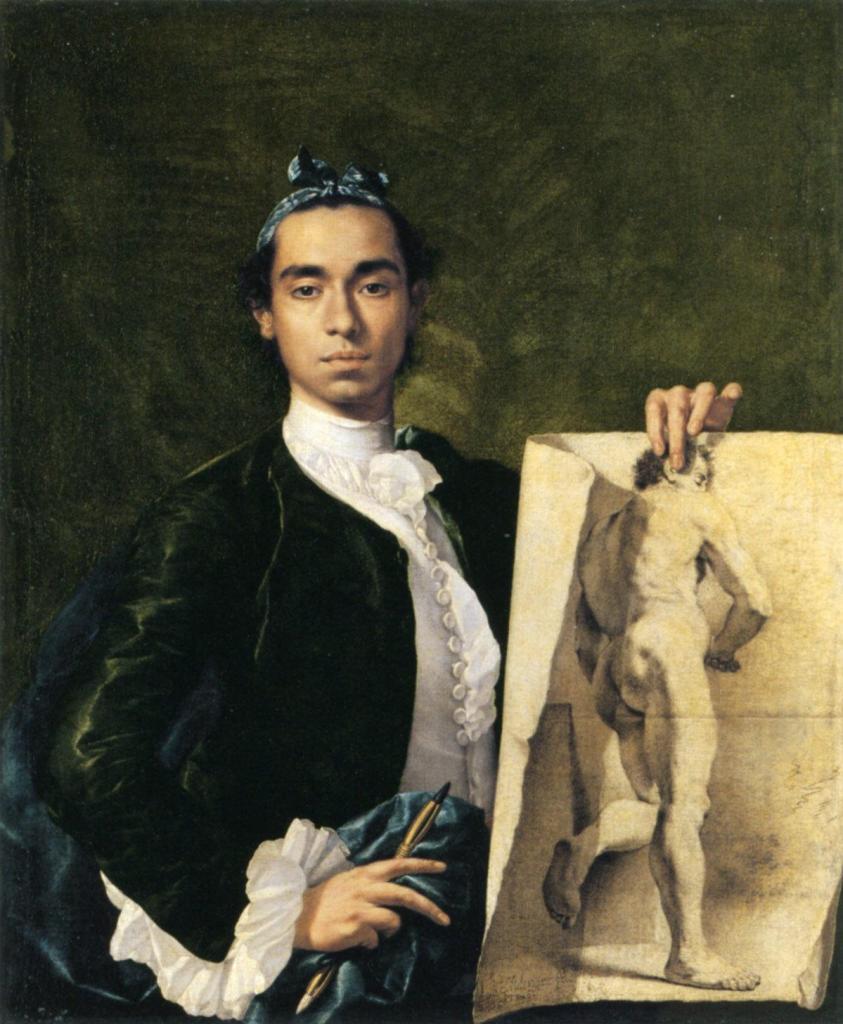 Luis Egidio Meléndez, Self-Portrait