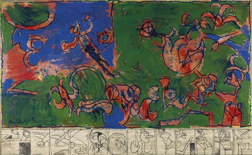 Pierre Alechinsky, oeuvre