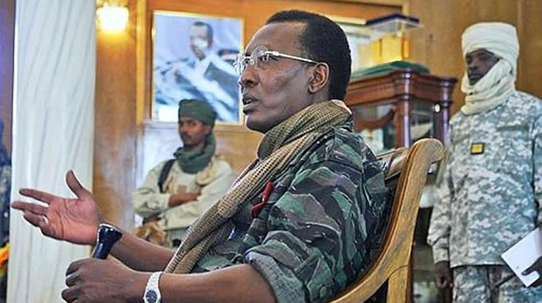 Président tchadien, franc CFA