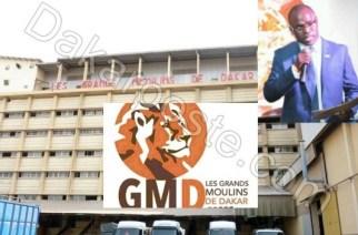 Le Directeur Commercial des Grands Moulins de Dakar, Habibou Samb en prison