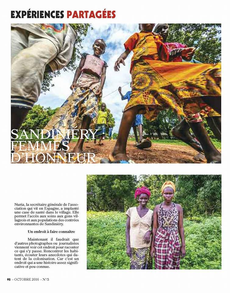 Sandiniery, Boubacar Touré mandémory, photo