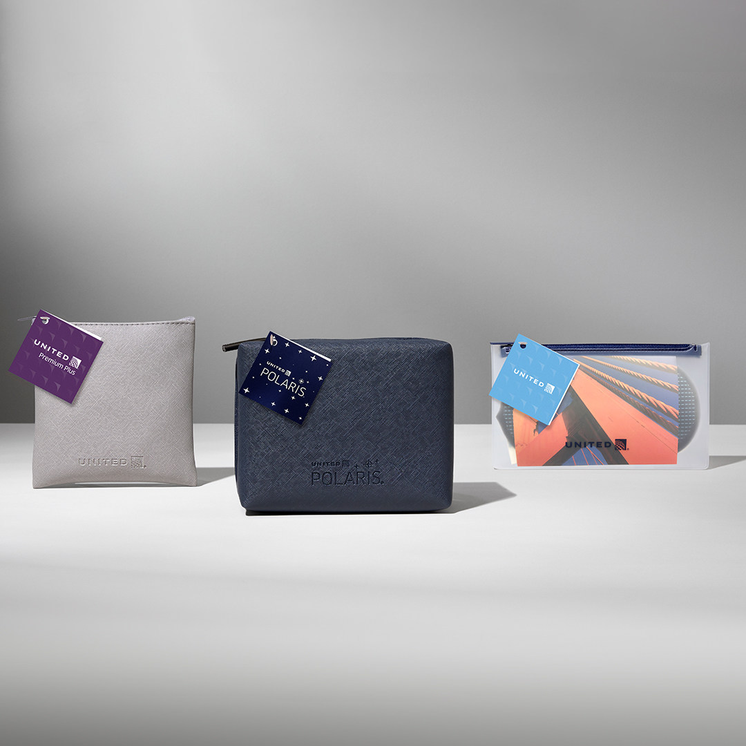 United Credit Card Customer Service United Airlines New Amenity Kits Samchui