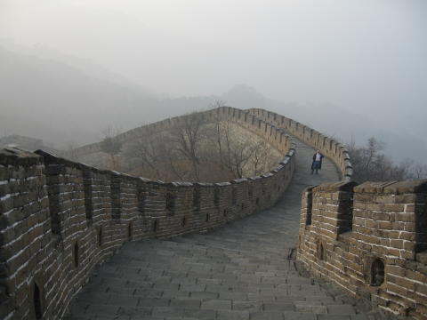 Great Wall of China at Mutianyu