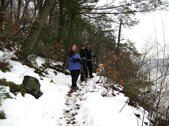 Hiking near Mystery Point