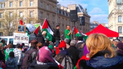 paris march and forum highlight struggle to free georges ibrahim abdallah palestinian prisoners. Black Bedroom Furniture Sets. Home Design Ideas