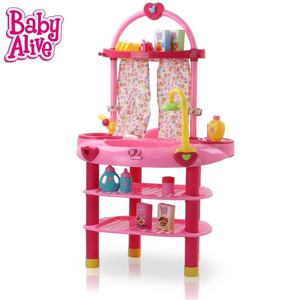 Bad Set For Baby Baby Alive 3 In 1 Cook N Care Set