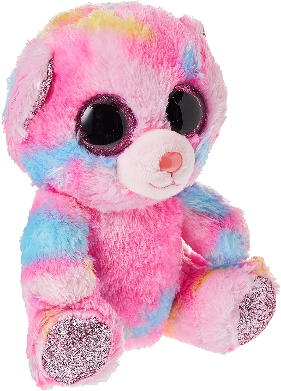 Baby Ko Toddler Ty Beanie Boos Franky Pink Multicolored Bear Samko