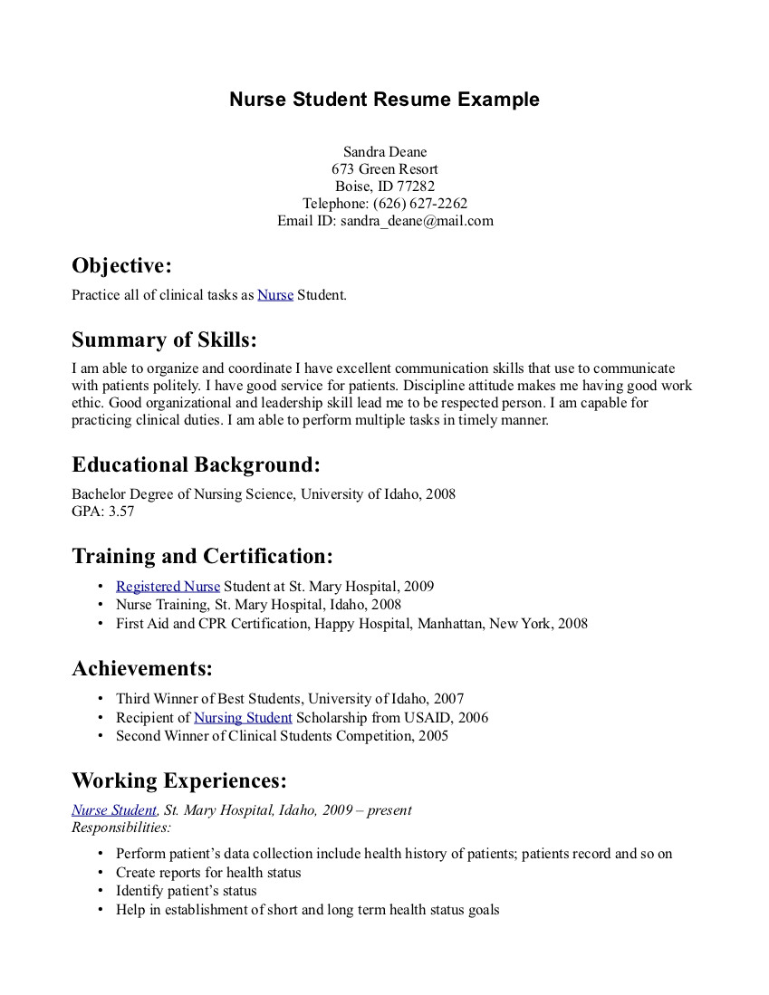entrylevel resume template
