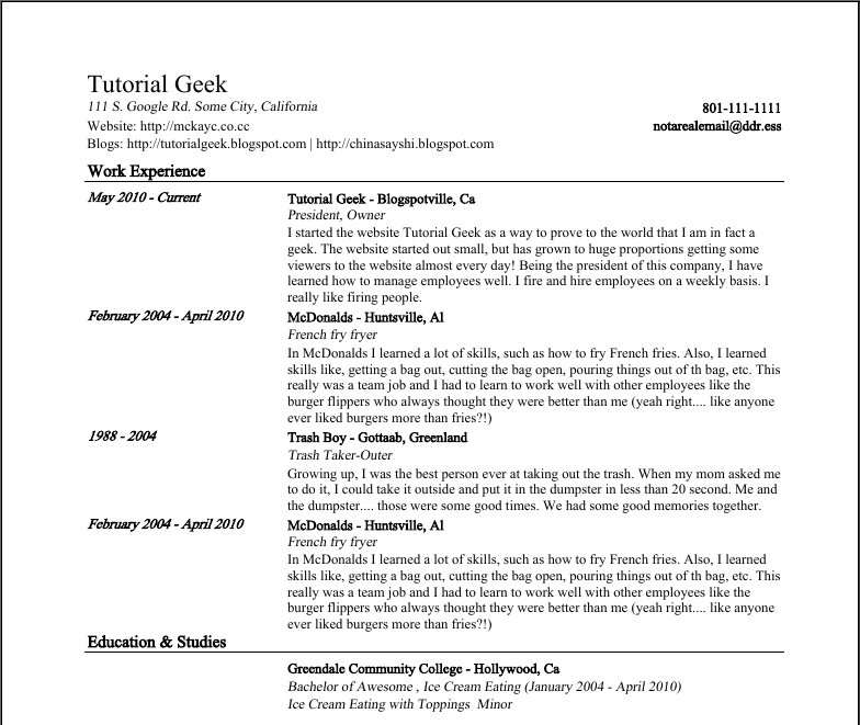 google docs templates resume easy best writing simple detail ideas