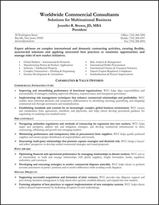 resume with professional summary radiovkm