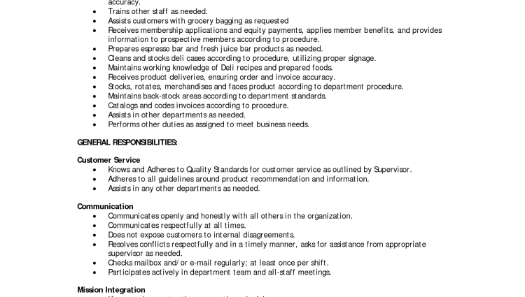 supervisor job description for resumes