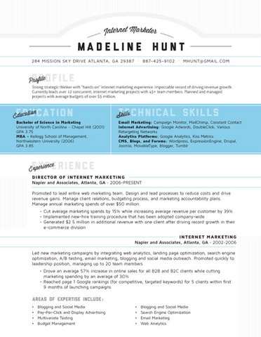 How to Make a Creative Unique and cool Looking Resume technical - cool looking resumes