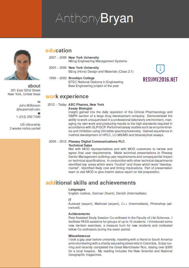 best new resume format - Ozilalmanoof