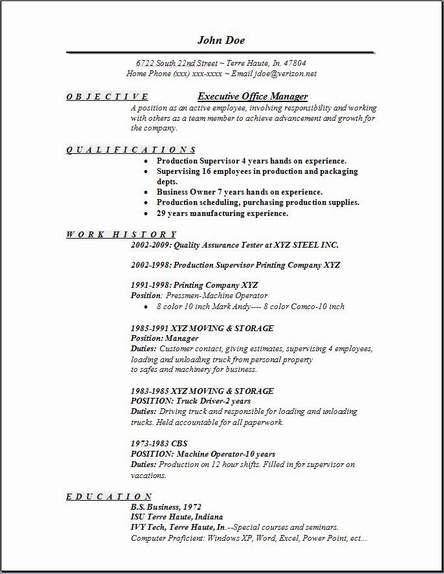 Office Manager Resume Template Free office manager resume point by