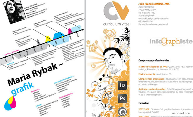 creative professional resume Creative Resume Designs that will make