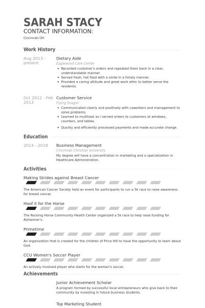 resume samples housekeeping jobs professional resumes example online