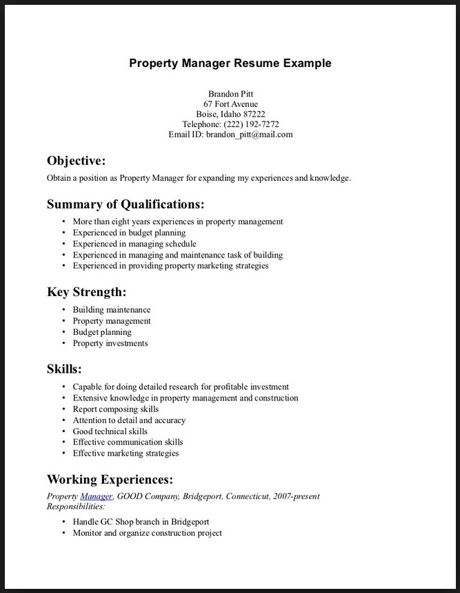 Resume Examples Cover Letter Template For Good Objectives To  Whats A Good Objective To Put On A Resume
