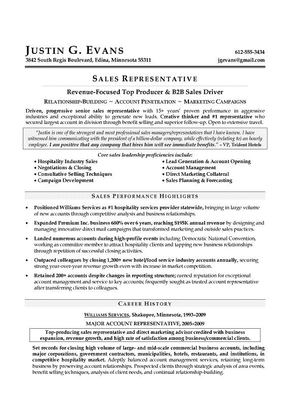 Resume-examples-sales - ghanaphotos - High Quality Resume Template - resume template sales