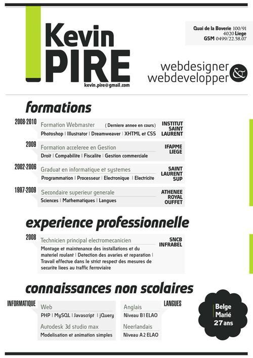 Skills for Web Design Resume - SampleBusinessResume
