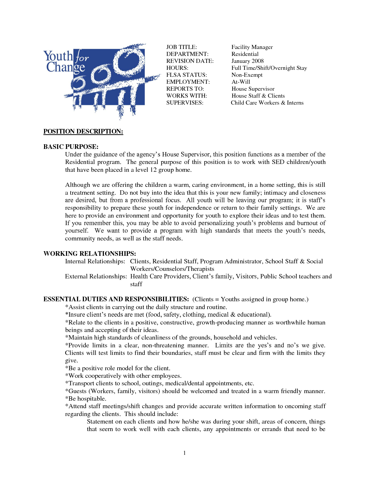 cleaning job resume samples