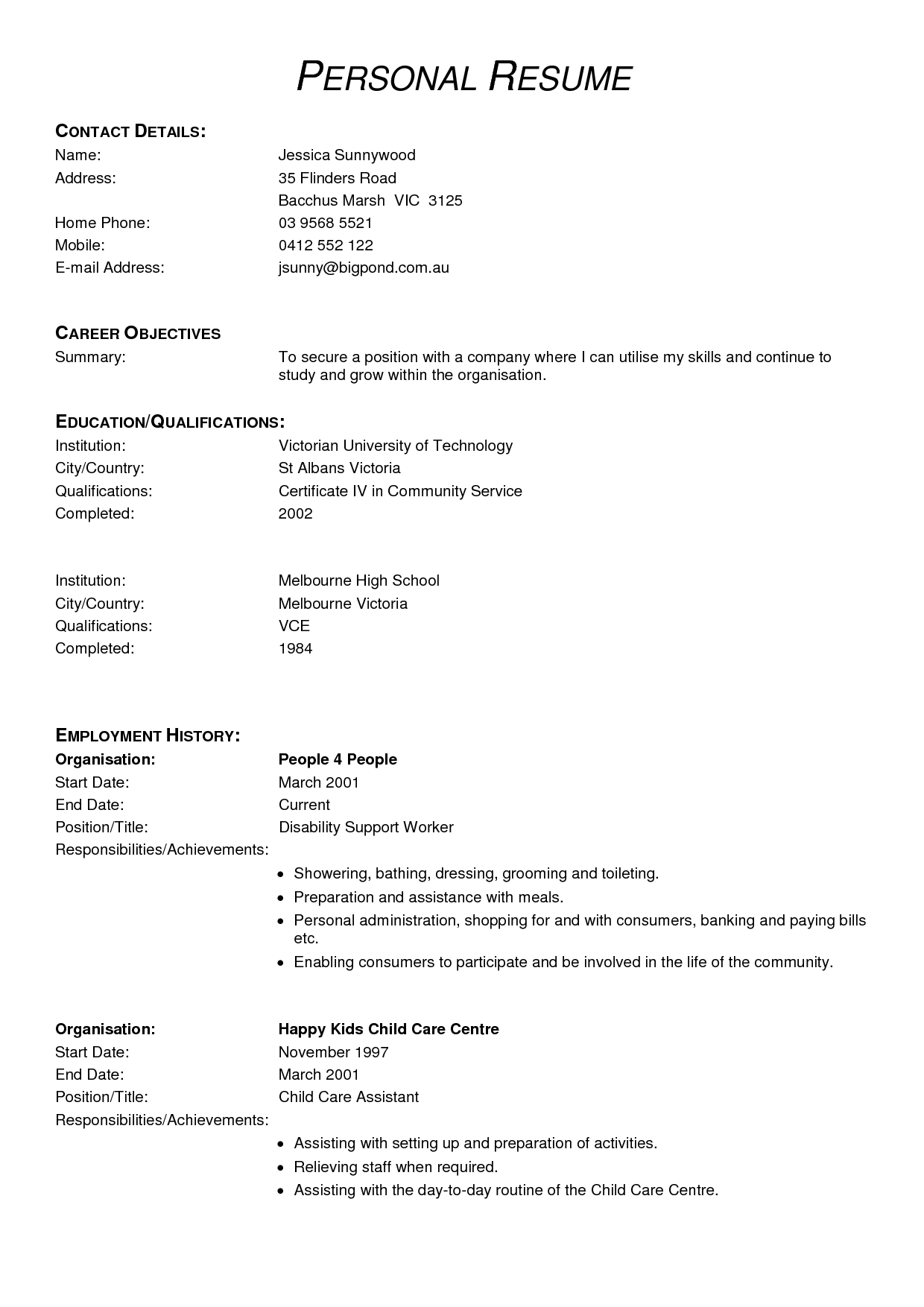 resume examples for a medical receptionist