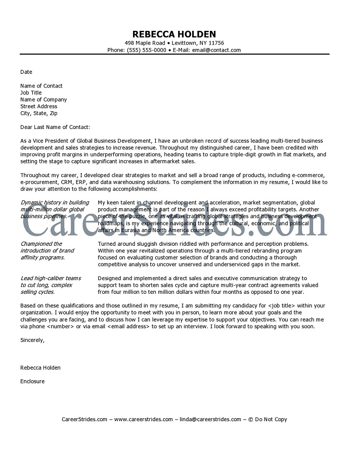template for cover letter for job application - Amitdhull - professional cover letters