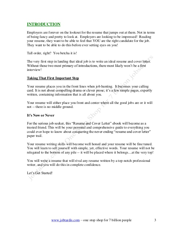 expression of interest cover letter examples
