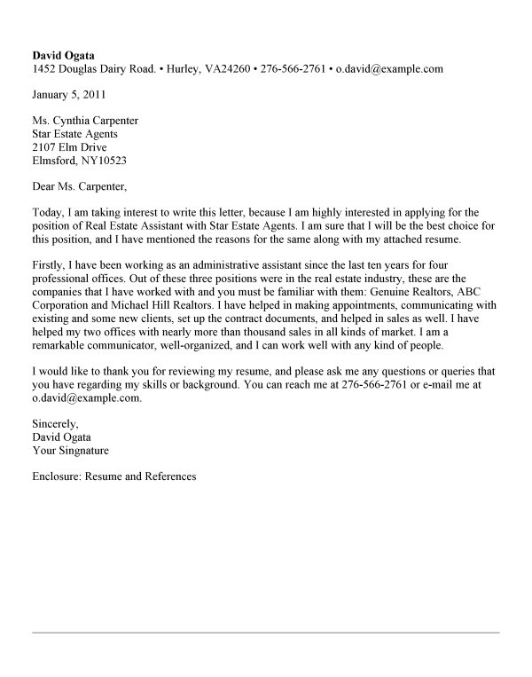 example professional cover letter - Romeolandinez - Example Of Resume Cover Letter