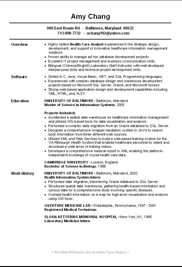hr resume examples entry level