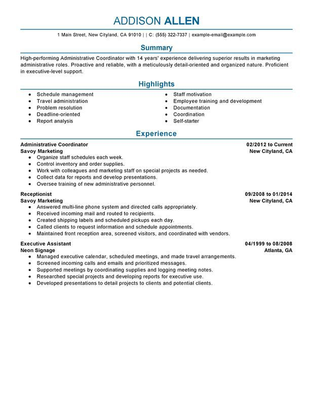 Insurance Specialist Resume Sample - SampleBusinessResume - insurance billing specialist sample resume