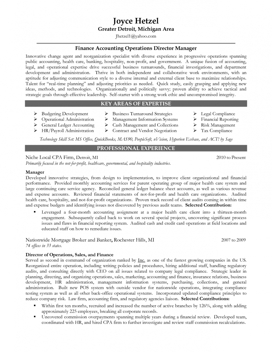 Resume Resume Finance Director financial accounting manager sample resume recipe cards template free human resources auto finance job description operations dir