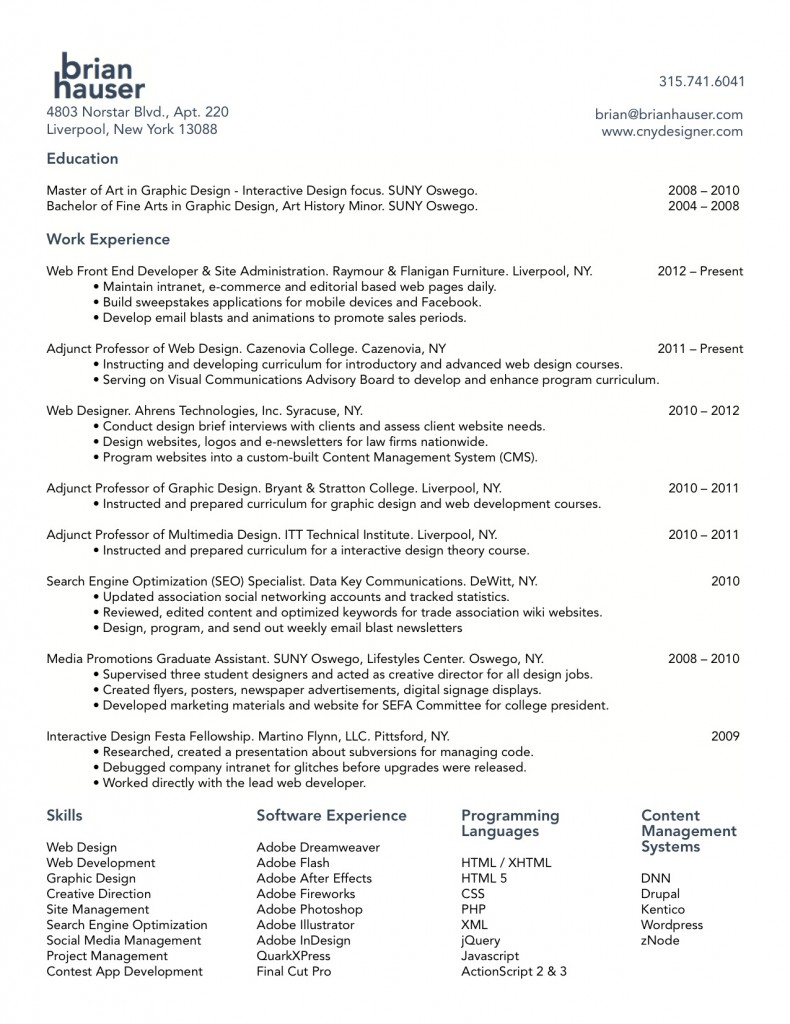sample resume for junior software developer sample resume for software  engineer careerride web developer resume designer