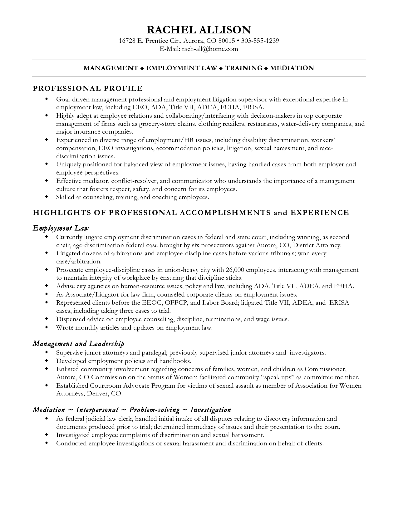 sample paralegal resumes resume cv cover letter neoteric - Example Of Paralegal Resume