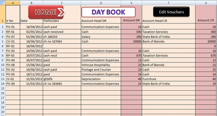 accounting small business excel templates - SampleBusinessResume