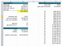 retirement income planning worksheet ...