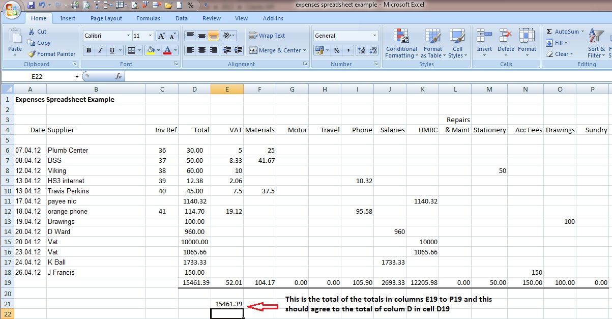 12 Free Accounting Spreadsheet Templates For Small Business
