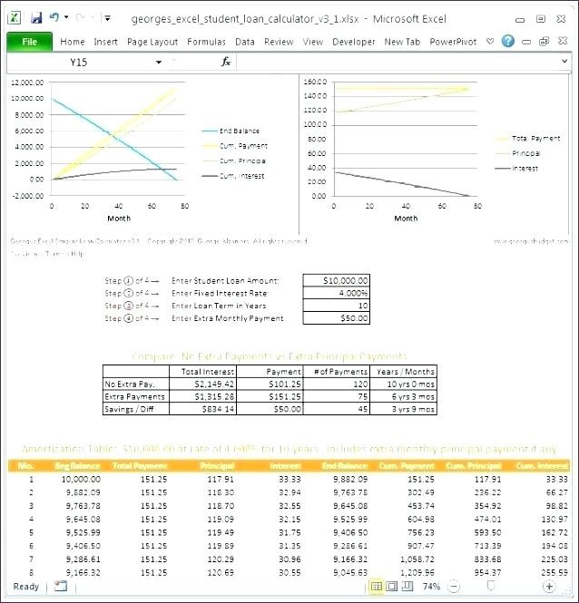 microsoft excel loan amortization template - SampleBusinessResume - excel loan payoff template