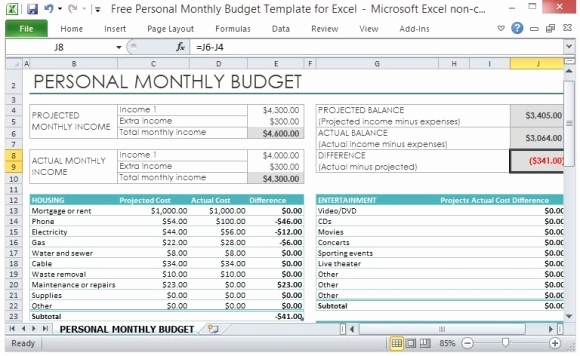 microsoft excel budget spreadsheet Best of Excel Spreadsheet For - microsoft excel budget template