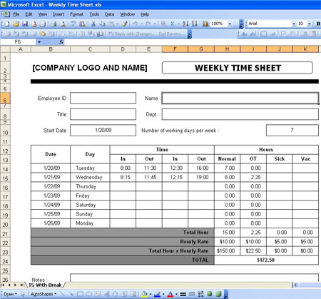 12 Free Payroll Spreadsheet Template Excel - SampleBusinessResume