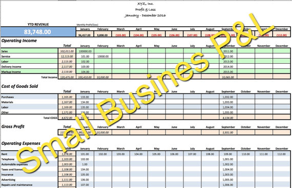 small business income and expense template - SampleBusinessResume - business income and expense sheet