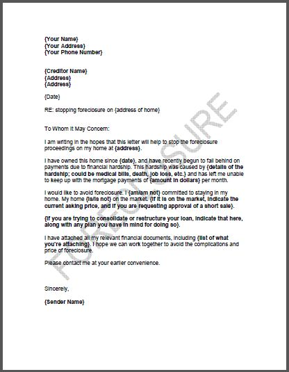 Sample Hardship Letters Get Hardship Letter Examples for Your
