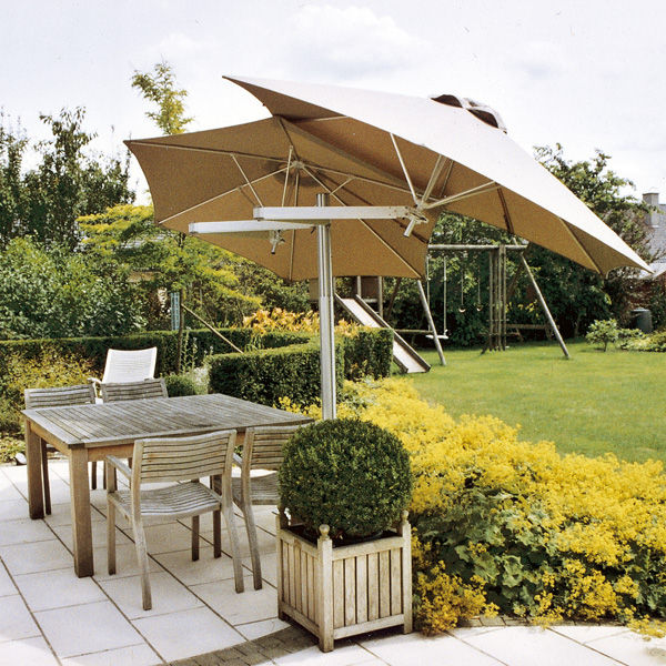 Doppelampelschirm Paraflex Umbrellas From Samson Awnings & Terrace Covers