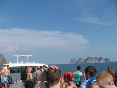 Boat to Koh Phi Phi 2