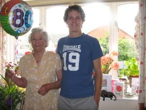 Grandma's 80th Birthday