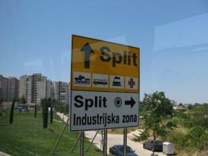 Split Signpost (Slovenia)