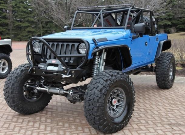 Trailer Queen Jeep Example