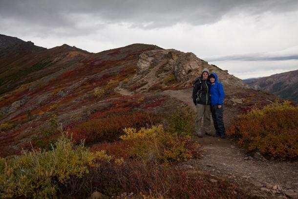 Denali National Park tundra in full colour