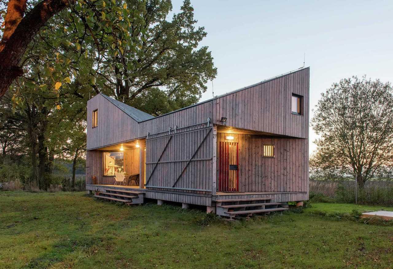 Energie-efficiënte huis. Tsjechische Republiek - Samstroi - bouw ...